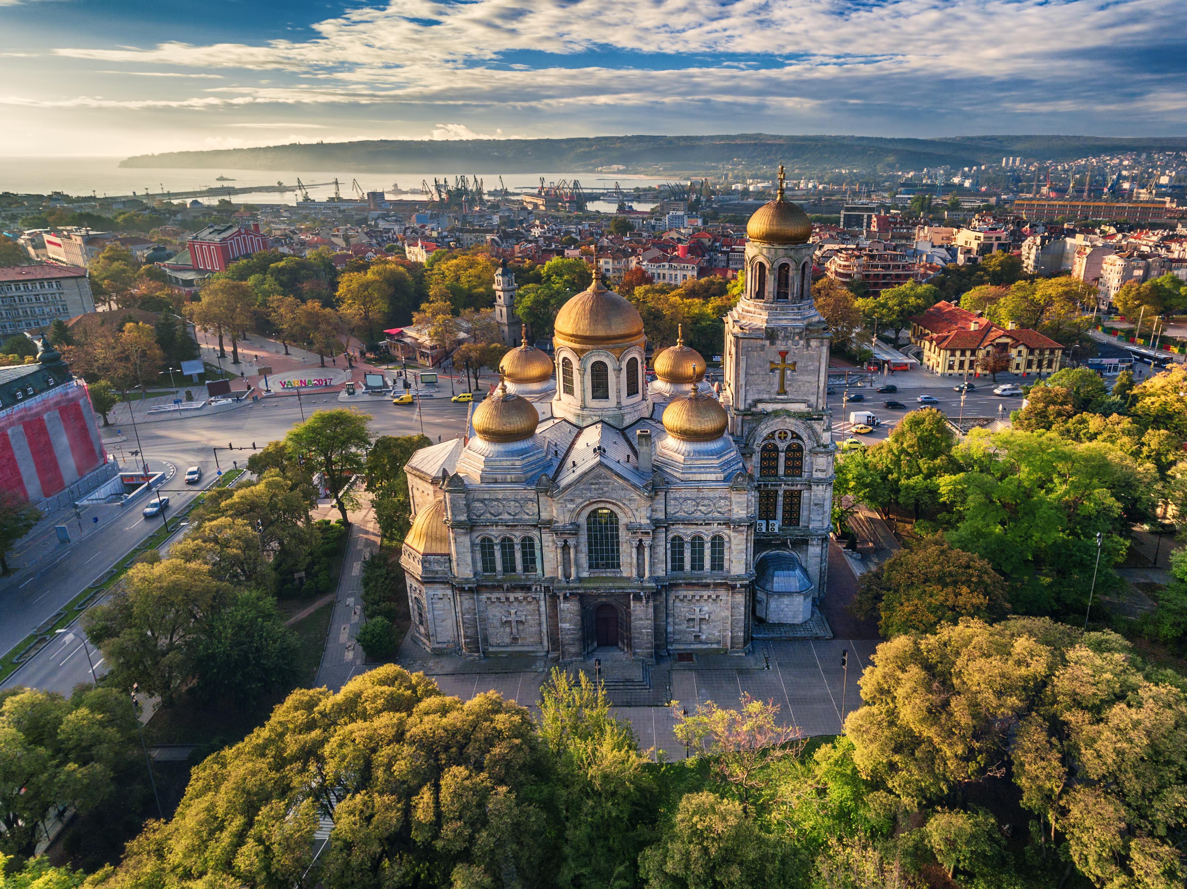 Центърът на Варна