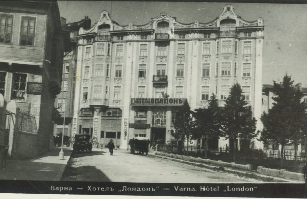 Old photo of Grand Hotel London