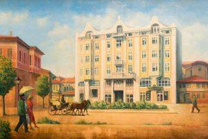 Картина на Гранд хотел Лондон